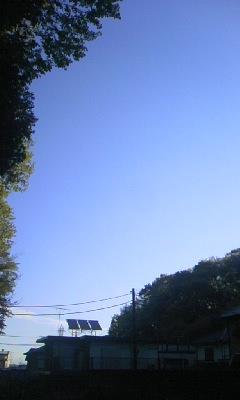 いい天気だ