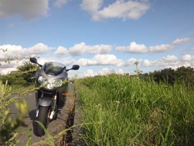 平日バイク