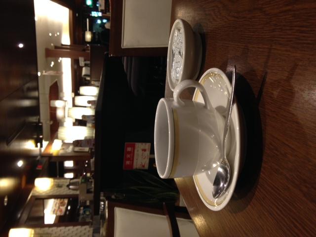 ロイホでコーヒー