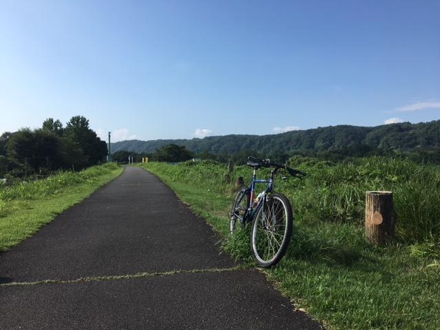 多摩川サイクリングロード→玉川上水